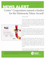 Cortec® Corporation named a finalist